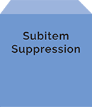 Subitem Suppression