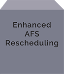 Enhanced AFS Rescheduling